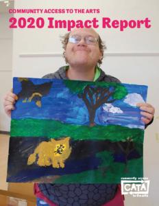 Image description: Cover of CATA 2020 Impact Report